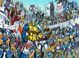 botcon 2010 litho by markerguru
