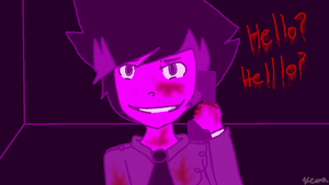 Kyle as Purple Guy by thatonegurl123