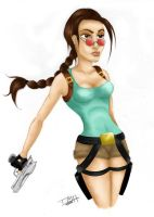 Lara Croft by viper456