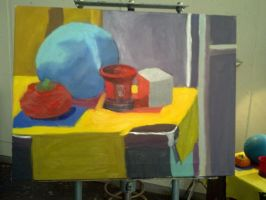 Class project still life wip 3 by synnworld