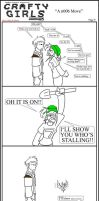 Minecraft Comic: CraftyGirls Pg 9 by TomBoy-Comics