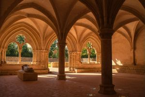 Abbey de l'Epau Sarthe France by hubert61