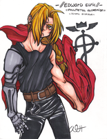 Edward Elric by CaptainTigglesworth
