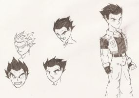 Lost Generation - Vegeta Jr by Sipioc