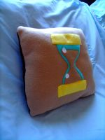 Dr. Whooves Pillow by CynicalSniper