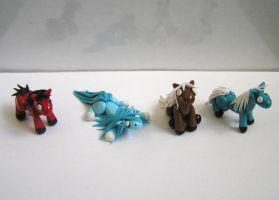 Mini Ponies! by ByToothAndClaw
