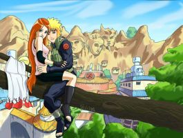 Naruto parents by dmstei00