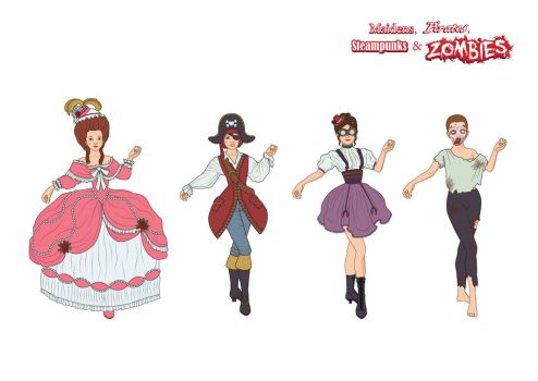Dress up Game - Costume Design by xlouisax