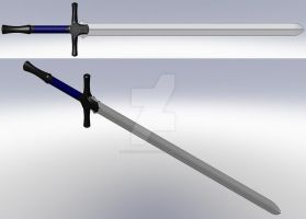 Twin Broadsword by silentmaster