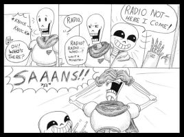 You WALKED Right into that One Papyrus by Batsu13angel