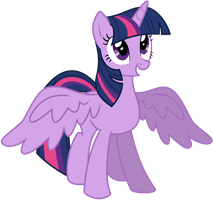 Twilight Sparkle - Alicorn by KyssS by KyssS90
