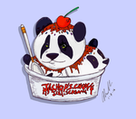 Drawing Challenge Day Delicioso: Furry Ice Cream by sugartitsnutpean