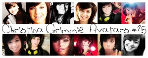 Christina Grimmie avatar by nataschamyeditions