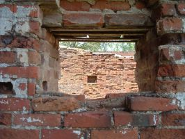 Brick Window by loghry