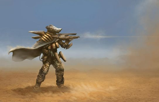 Sand trooper by 7leipnir