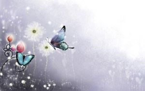 Butterfly Wallpaper by NixKittenx
