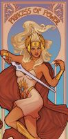 She-Ra, Princess of Power by sanya