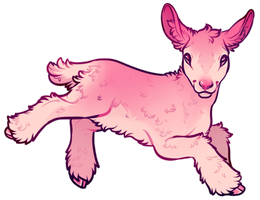 pink lamb by edelilah