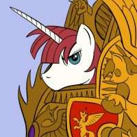 Emperor of Mankind Lauren Faust by DarkHestur