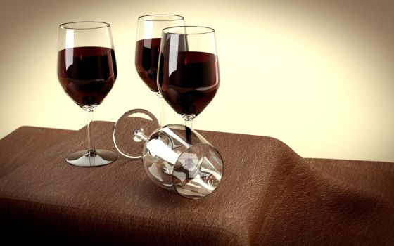 Wine Glasses by whambam175