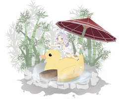 DN: Enjoying the Hot Spring by SoulEvans