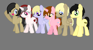 Most of my OC's by QueenMelody22