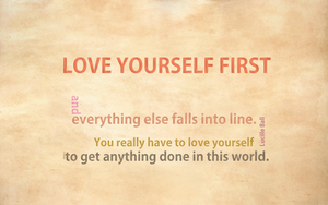 Love_yourself_1st by shera00