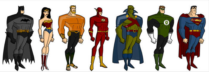 Justice League: The Founding Members by grego23