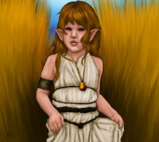 Little Elven Princess by ColdEnigma