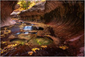 Subway in Autumn by tourofnature