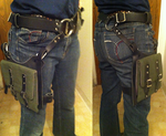 Thigh holster pack by Sharpe19