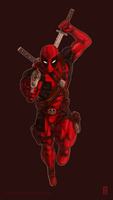 Deadpool by Croustymatt