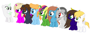 _____ Meets My Filly OCs Collab by Cherryblossom135