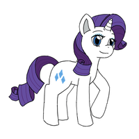 Daily Doodle : Rarity by sodapoq