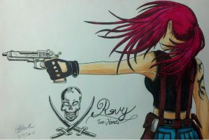 "Revy ""Two-hands"" by Panzer-13"