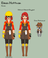 TF2 - Eileen Reference Sheet by porcelian-doll