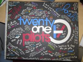 Twenty One Pilots Mural by Deathwisher3228