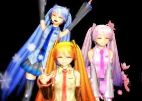 .:MMD:. photo taking by Blue-Shine-Star