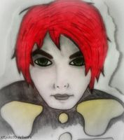 Gerard Way by xKyoko30
