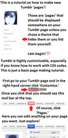 Tutorial: New Tumblr Page by Octkita