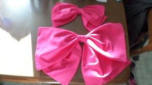 Sailor Moon Bows! by theelysianproject