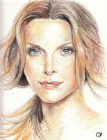 Michelle_Pfeiffer_Portrait by CrisDelaraArt
