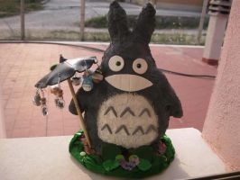 Totoro Earring Rail by tivibi