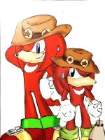 New and old school Knux by DeNiisee