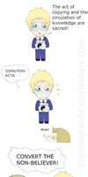 APH: Sweden's new religion by CyanoDrake