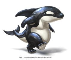Mr. Orca by Silverfox5213