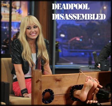 Miley Cyrus Stocked by DeadpoolDisassembled