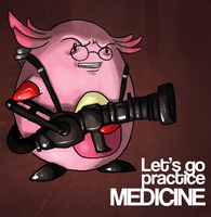 Chansey by incongruousinquiry