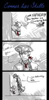 Connor has Skills Comic by RennaLorie