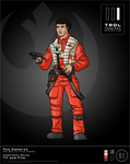 TRDL 2016 Series, No 01 Poe Dameron by TRDLcomics